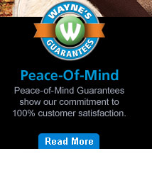 Peace of Mind Guarantees